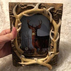 Burnes Deer antlers 4 x 6 frame
